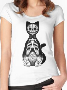 Skulls & Daggers Women's Fitted Scoop T-Shirt