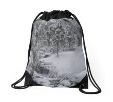 Arosa Frozen Brook Drawstring Bag