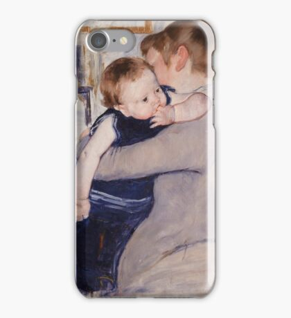Mary Cassatt - Mother and Child 1889 , American Impressionism  iPhone Case/Skin