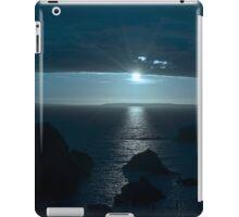 blue toned wild atlantic way sunset iPad Case/Skin