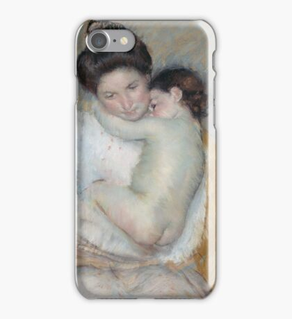 Mary Cassatt - Mother and Child  1900 , American Impressionism  iPhone Case/Skin