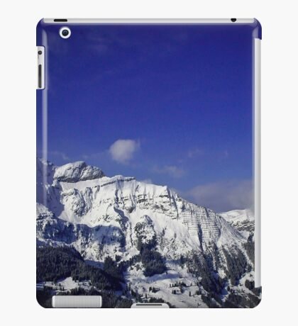 Shilthorn Winter Scene iPad Case/Skin