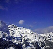 Shilthorn Winter Scene by Alius Imago