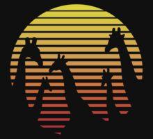 Giraffes / Giraffen / Girafes / Jirafas / Giraffe Kids Tee