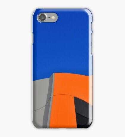 Orange Pop Abstract by Gaye G iPhone Case/Skin