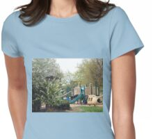 THE BEGINNING OF SUMMER Womens Fitted T-Shirt