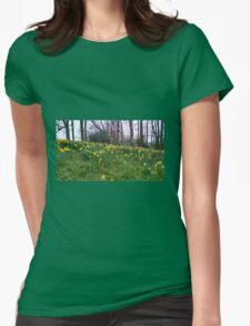Daffodils Rising Womens Fitted T-Shirt
