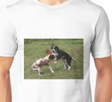 Puppies At Play Unisex T-Shirt