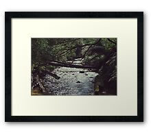 Meet me down by the river Framed Print