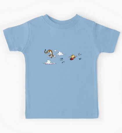 Calvin And Hobbes Fly Kids Tee
