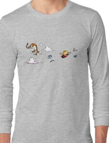 Calvin And Hobbes Fly Long Sleeve T-Shirt
