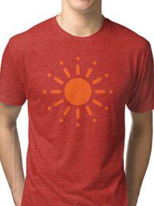 Sun / Soleil / Sol / Sonne / Sole / Zon (Orange) Tri-blend T-Shirt