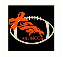 Denver Broncos Super Bowl Art Print