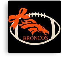 Denver Broncos Super Bowl Canvas Print