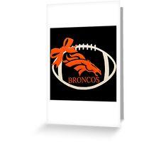 Denver Broncos Super Bowl Greeting Card