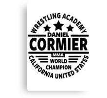 Daniel Cormier Canvas Print