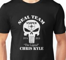 seal team sniper chris kyle Unisex T-Shirt
