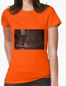 Walking on air, 2014, 120-80cm, oil on canvas Womens Fitted T-Shirt