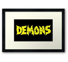Demons Framed Print