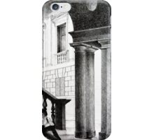 Vicenza, 2011, 50-70cm, graphite crayon on paper iPhone Case/Skin