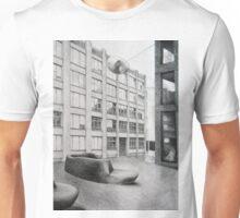 Urban Living Room, 2011, 50-70cm, grafit on paper Unisex T-Shirt