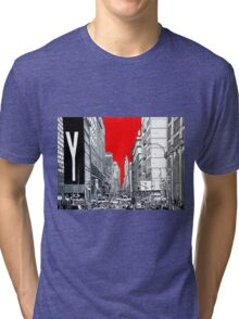 Splash Cities - New York 03 Tri-blend T-Shirt