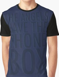 Blue Tardis Graphic T-Shirt