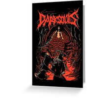 Dark Souls slayer Greeting Card