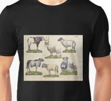 Naturgeschichte in Bildern mit erläuterndem Text E Strack 1820 Lief 1 Mammals 059 Unisex T-Shirt