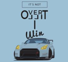 GT R r35 motivation One Piece - Short Sleeve