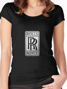 Rolls Royce Women's Fitted Scoop T-Shirt