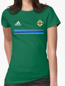 Northern Ireland Soccer / Football Womens Fitted T-Shirt