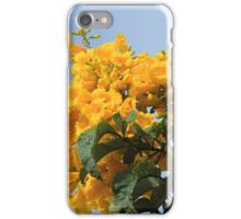 Yellow Flowers on a Tree iPhone Case/Skin