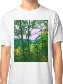 Purple Skyline Classic T-Shirt