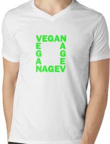 Vegans are square Mens V-Neck T-Shirt