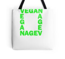 Vegans are square Tote Bag