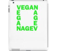 Vegans are square iPad Case/Skin