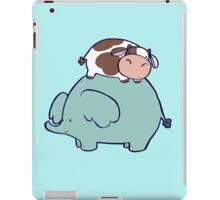 Cow and Elephant iPad Case/Skin