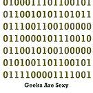 Geeks are Sexy - Binary by Jason Scott