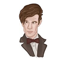 Doctor WHO 11 Eleventh Doctor Photographic Print