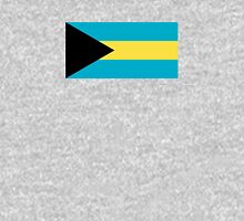 Bahamas Flag Duvet Sticker T-Shirt Cell Phone Case Women's Fitted Scoop T-Shirt