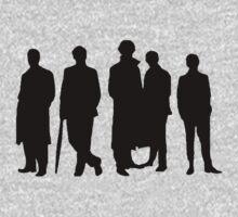 Sherlock Silhouette Kids Tee