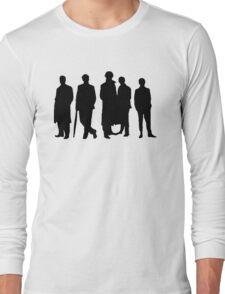 Sherlock Silhouette Long Sleeve T-Shirt