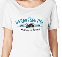 Garage Service Oldtimer by Francisco Evans ™ Women's Relaxed Fit T-Shirt
