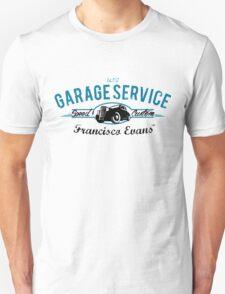 Garage Service Oldtimer by Francisco Evans ™ Unisex T-Shirt