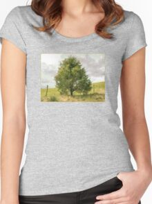 Fence Tree Women's Fitted Scoop T-Shirt