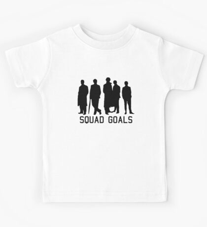 Sherlock Squad goals Kids Tee