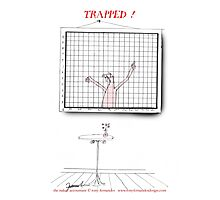 trapped, tony fernandes Photographic Print
