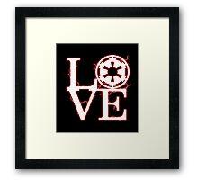 Empire of Love Framed Print
