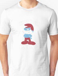 Papa smurf Unisex T-Shirt